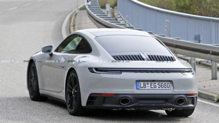 2021 porsche 911 gts coupe spy photo 9