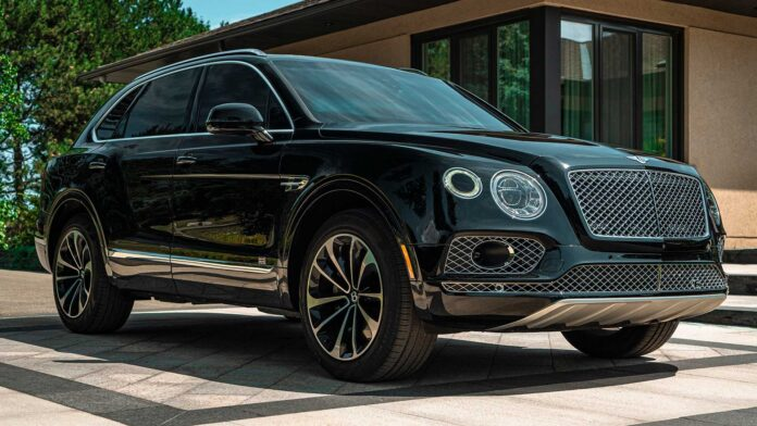 Armored Bentley Bentayga
