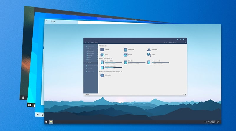I mac themes for xp windows 10