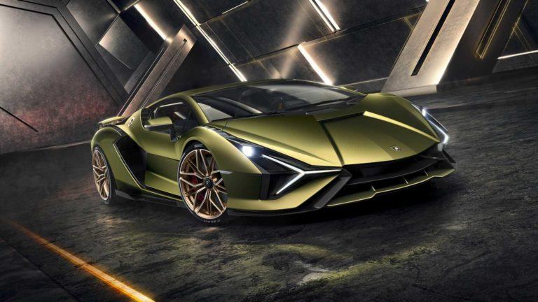 Lamborghini Sian is Lamborghini's first electrified car, and the most powerful!