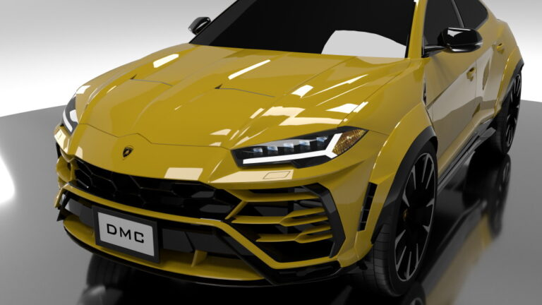 Lamborghini Urus Gets More Power by DMC