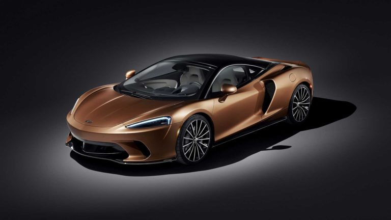 McLaren GT Debuts as a Powerful Sport-Car, with Plenty of Luggage Space