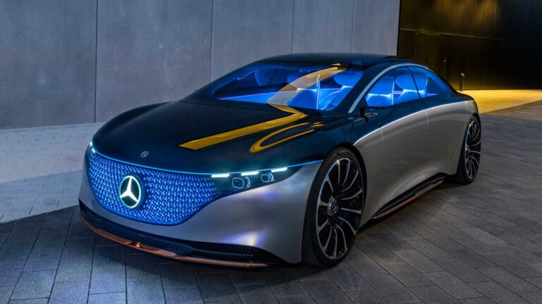 Vision EQS is the first real step of Mercedes-Benz sedan towards the electric future