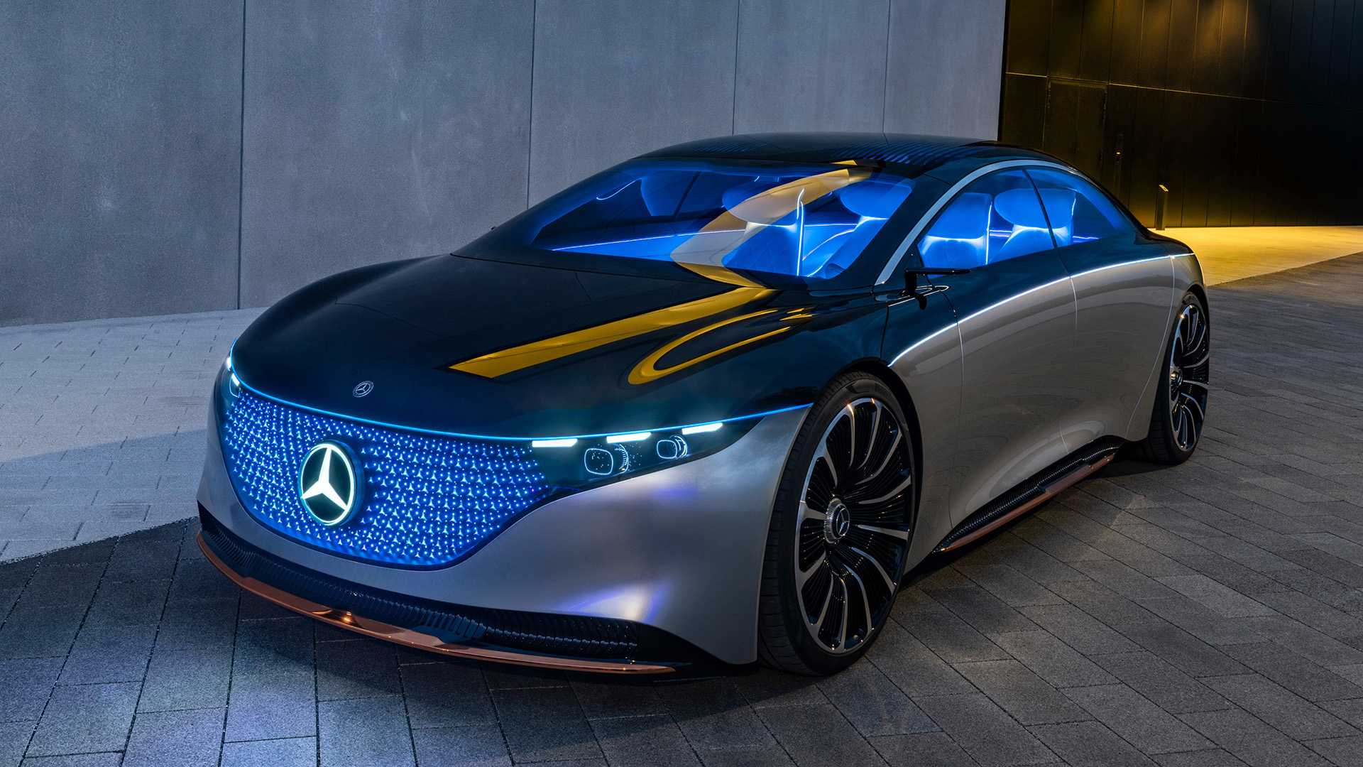 Vision EQS is the first real step of Mercedes-Benz sedan ...