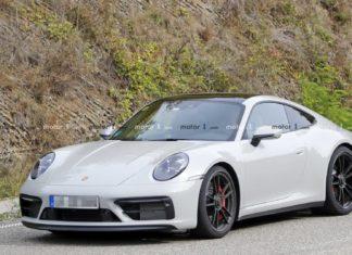 Porsche 911 GTS Spy Shoots