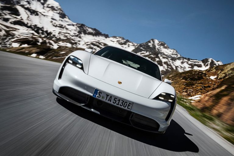 Porsche Taycan Officially Unveiled – The first electric car from Porsche