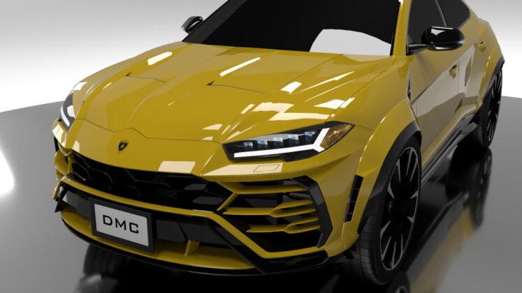 Tuned Lamborghini Urus DMC 10