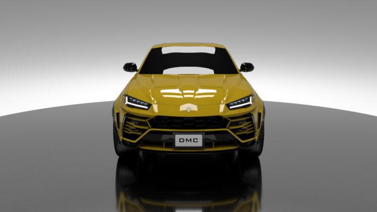Tuned Lamborghini Urus DMC 2