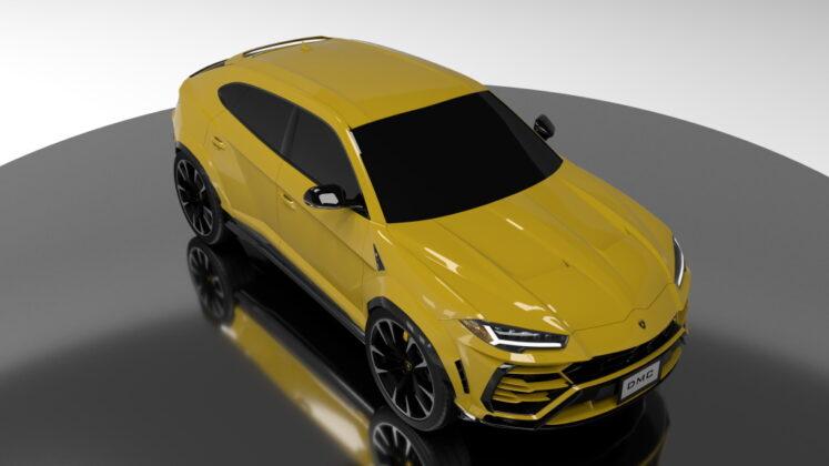 Tuned Lamborghini Urus DMC 3