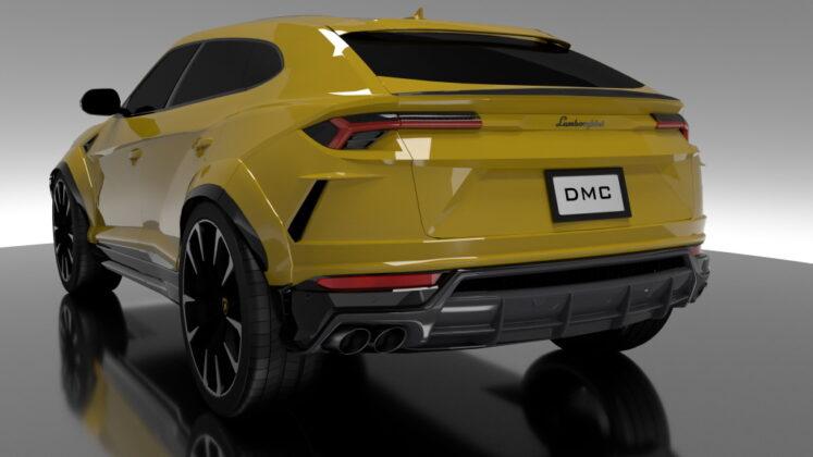 Tuned Lamborghini Urus DMC 4