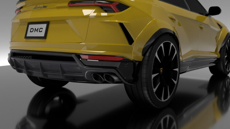 Tuned Lamborghini Urus DMC 5