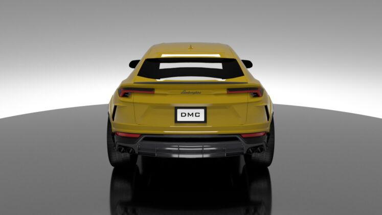 Tuned Lamborghini Urus DMC 6