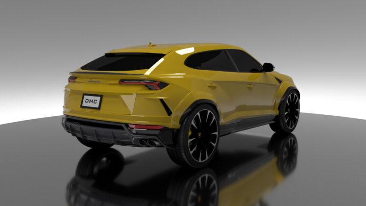 Tuned Lamborghini Urus DMC 7