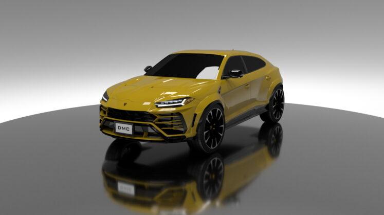 Tuned Lamborghini Urus DMC 9