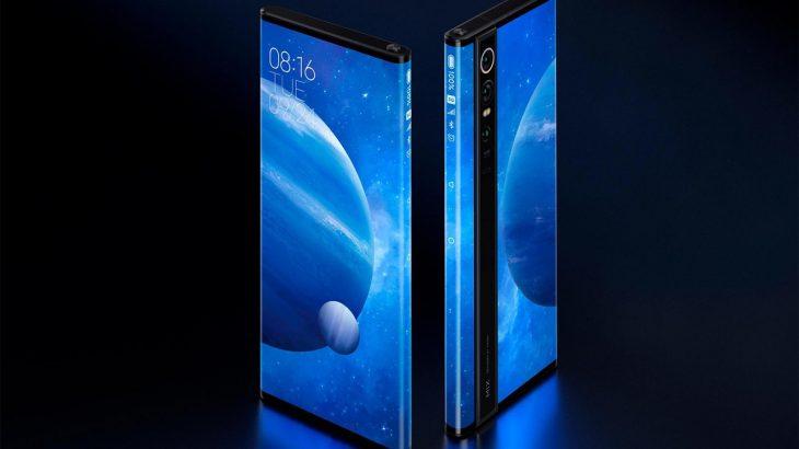 Xiaomi Mi Mix Alpha is a nearly all-screen phone