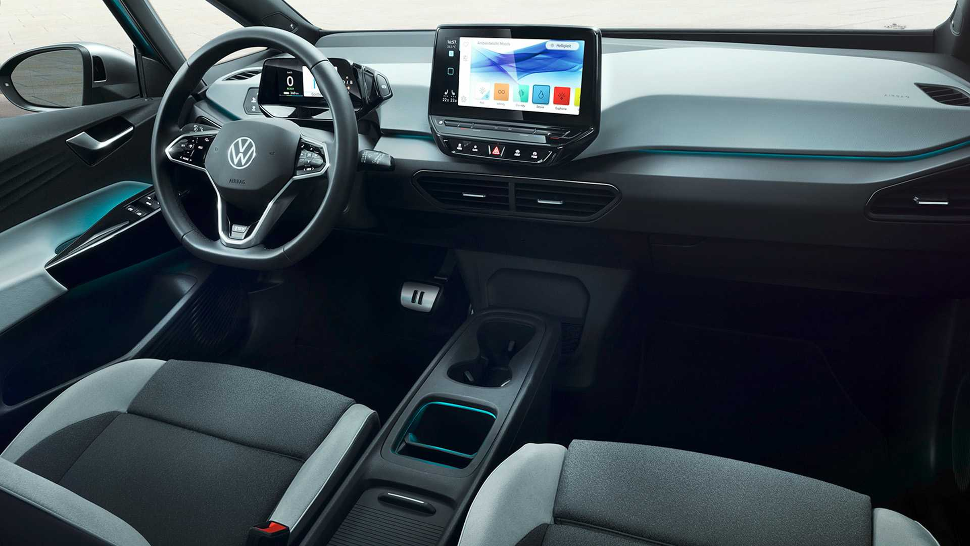 Volkswagen ID.3 Debuts: The First Fully Electric Car For