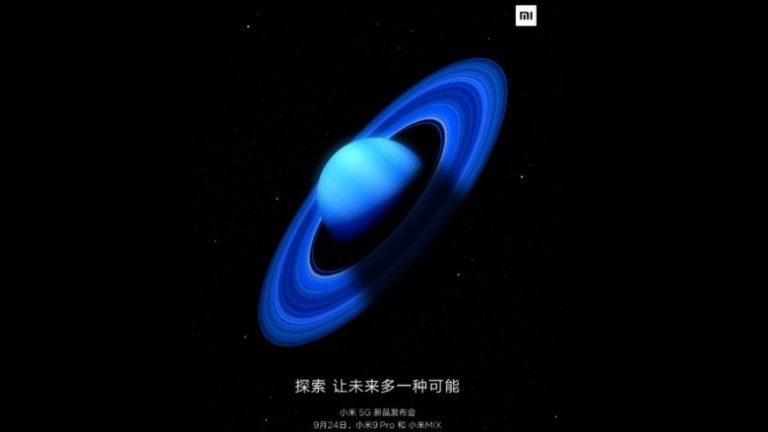 Xiaomi Mi 9 Pro 5G and Mi Mix 4 5G arrive next week