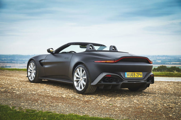 2020 Aston Martin Vantage Convertible First Images Revealed
