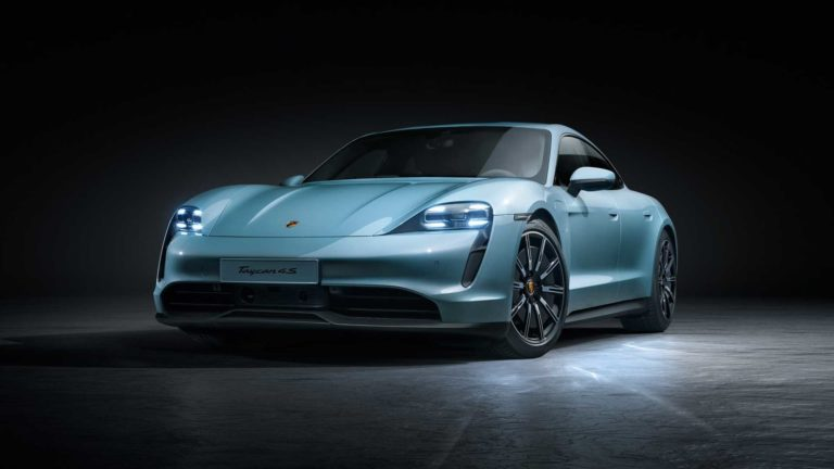 2020 Porsche Taycan 4S a Fully Electric car Revealed
