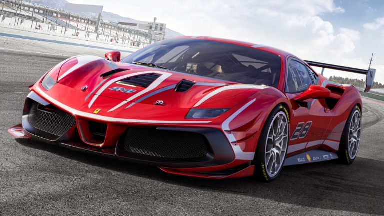 Ferrari unveiled an updated super sports version of the 488 Challenge EVO