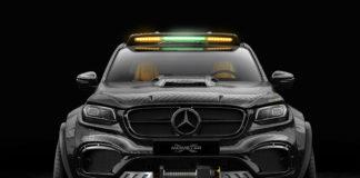 Mercedes Benz X-Class, 6×6 Concept (PHOTO)