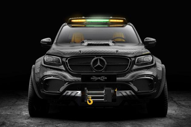 Mercedes Benz X Class EXY Monster X Concept 1 1
