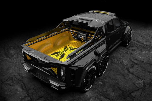 Mercedes Benz X Class EXY Monster X Concept 3