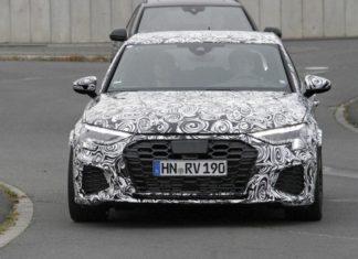 Audi RS 3 Spy Shots