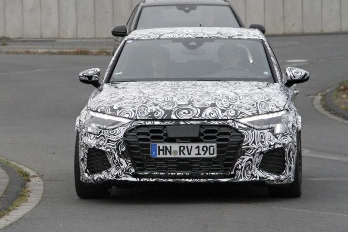Audi RS 3 Spy Shots
