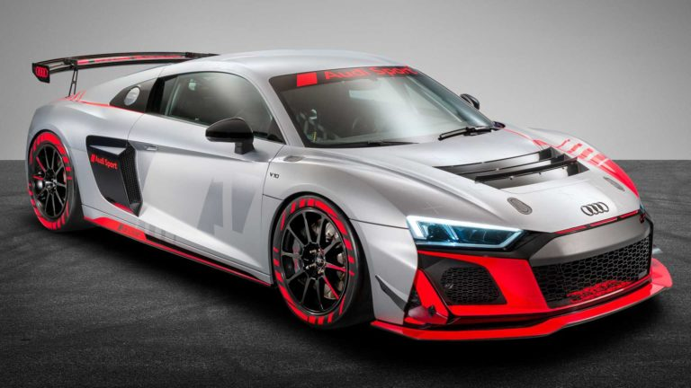 Audi Sport unveils the R8 LMS GT4 in the redesigned edition