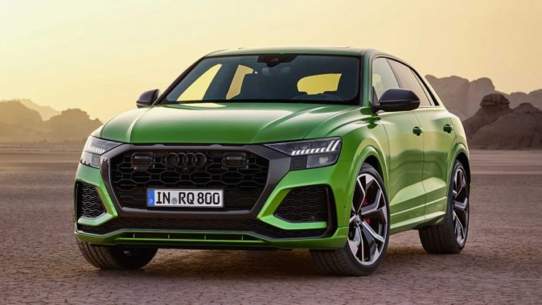 2020 Audi RS Q8 debuts with the same top speed as Lamborghini Urus