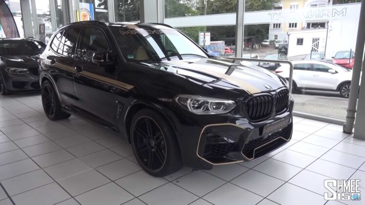 2020 bmw x3 m competition by manhart 1