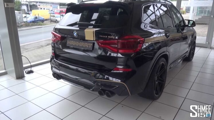 2020 bmw x3 m competition by manhart 10