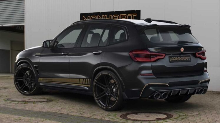 2020 bmw x3 m competition by manhart 11