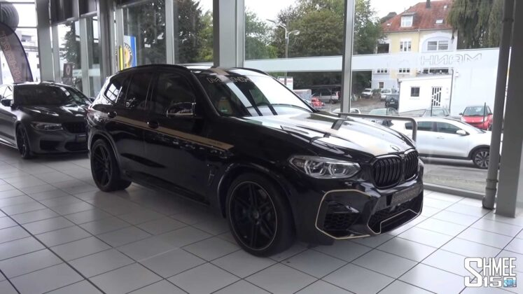 2020 bmw x3 m competition by manhart 3