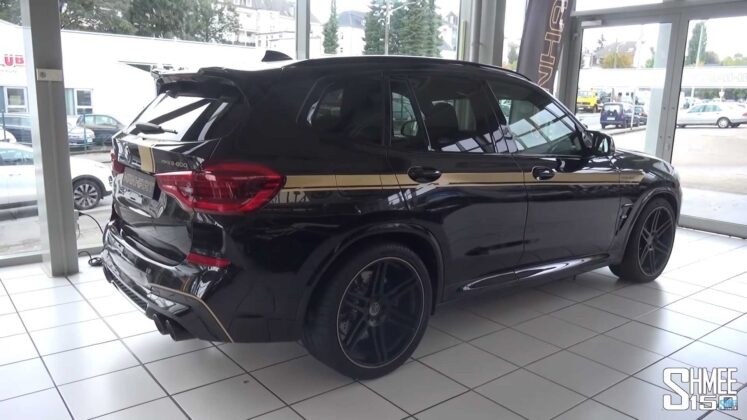 2020 bmw x3 m competition by manhart 9