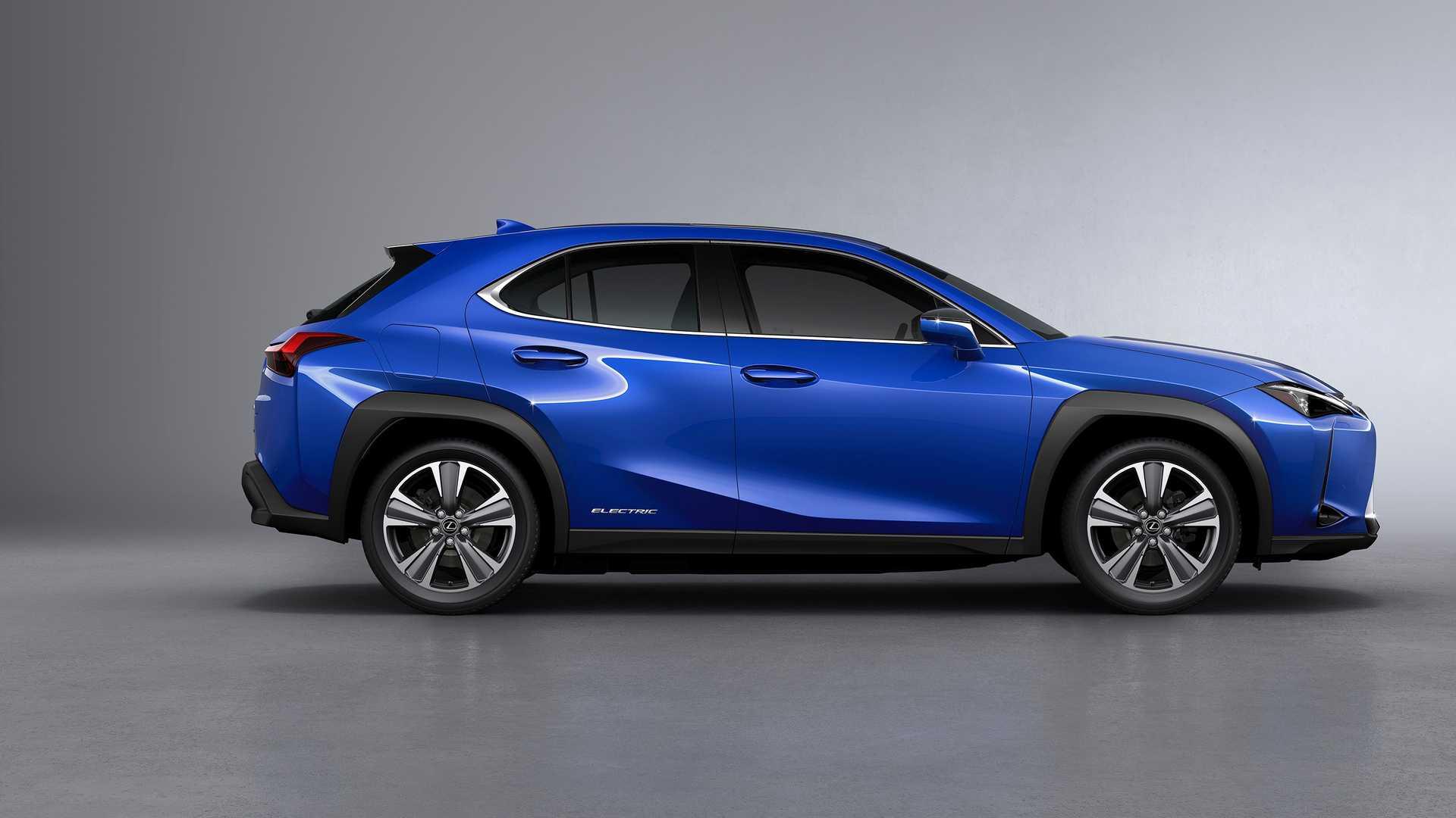 Lexus Unveiled Its First Electric Car: Lexus 300e UX