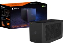 Gigabyte RTX 2080 Ti Gaming Box, Liquid Cooling External Graphics Card