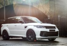 Cayman Pearl Range Rover Sport SVR Pace Car