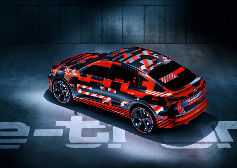 Audi reveals the look of E-Tron Sportback for the first time, confirms the launch date of the RS Q8