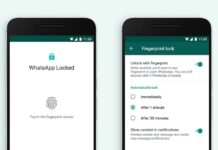 Enable Fingerprint Lock on WhatsApp For Android Devices