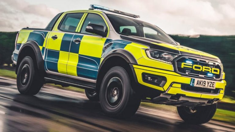 Ford Range Raptor is modified so it can even track in difficult terrain