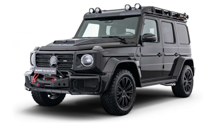 Mercedes G-Class With Brabus Adventure Package