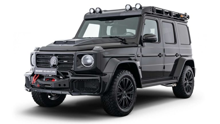 Mercedes G-Class with Brabus' Adventure package is ready to explore