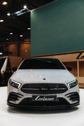 auto mercedes a class lorinser exhaust tune 91573388135