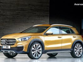 Mercedes on December 11 unveils a new GLA model to rival Audi Q2 and BMW X2