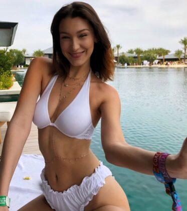bella hadid in bikini social media 04 19 2018 4