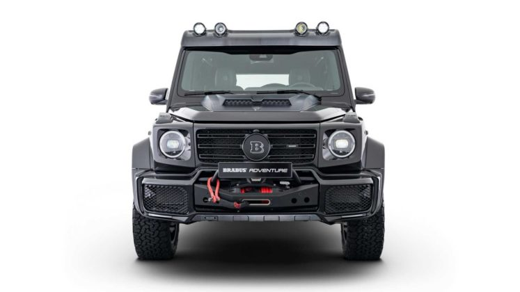 mercedes g class with brabus adventure package