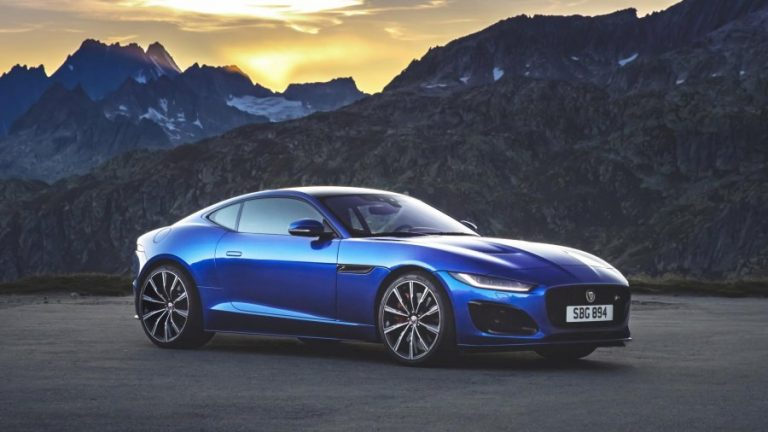 2020 Jaguar F-Type Facelift Officially Revealed