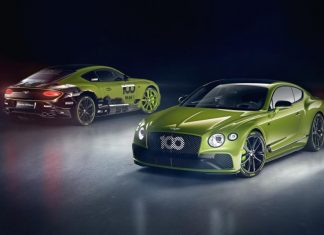 Bentley Continental GT Pikes Peak Special